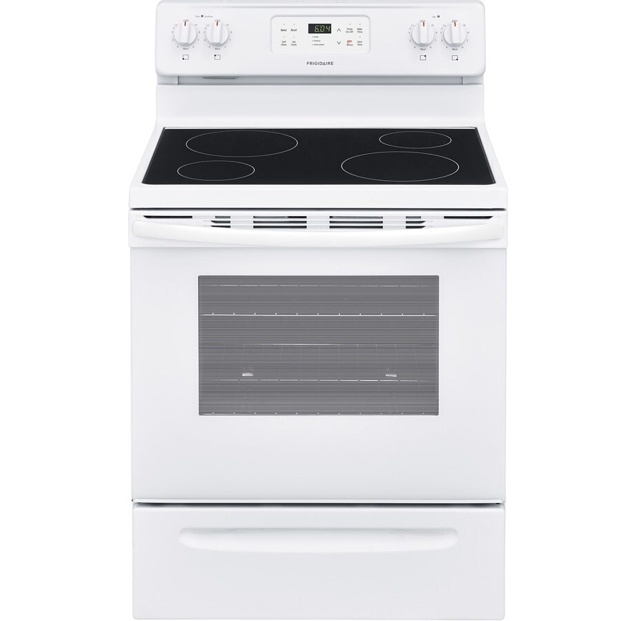 Shop Frigidaire Smooth Surface Freestanding 5 3 Cu Ft Self