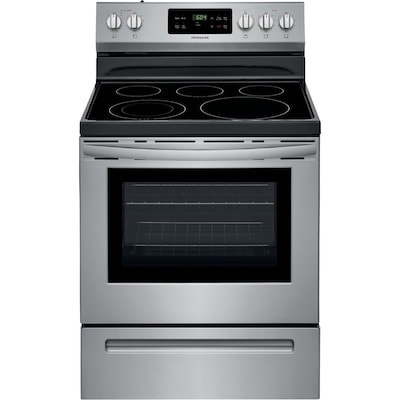 Frigidaire Smooth Surface 5-Element 5 4-cu ft Steam Cleaning