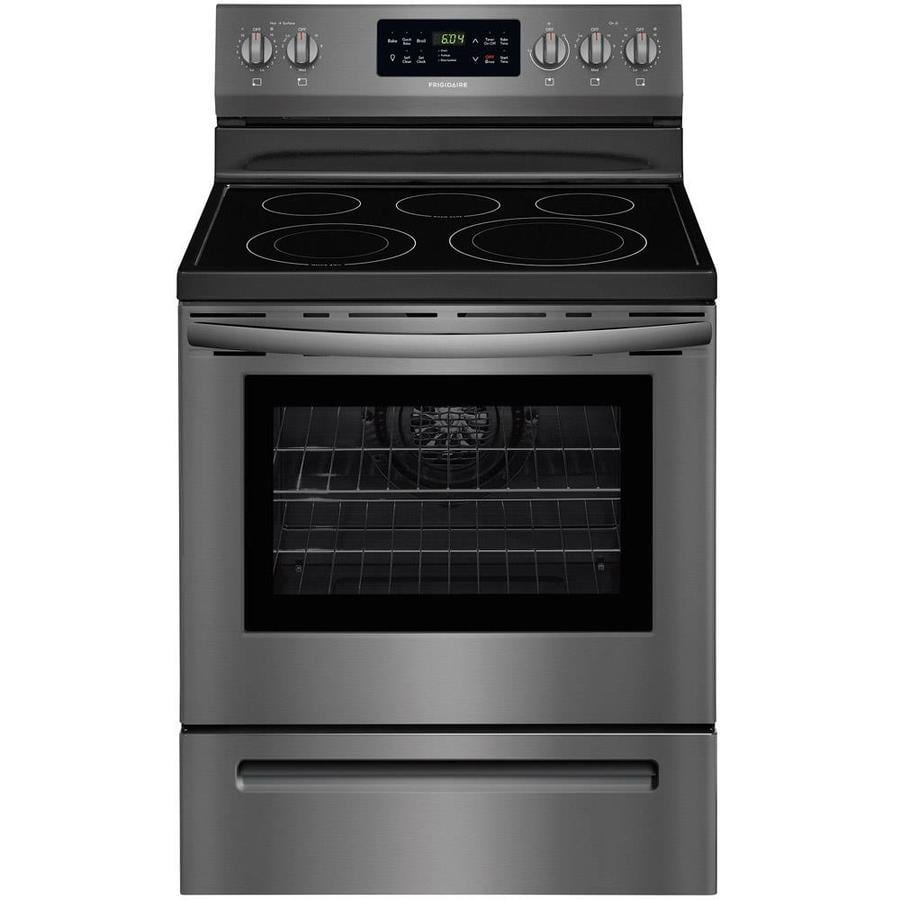Electric Kitchen Stoves Lowes ~ Shop frigidaire smooth surface freestanding element