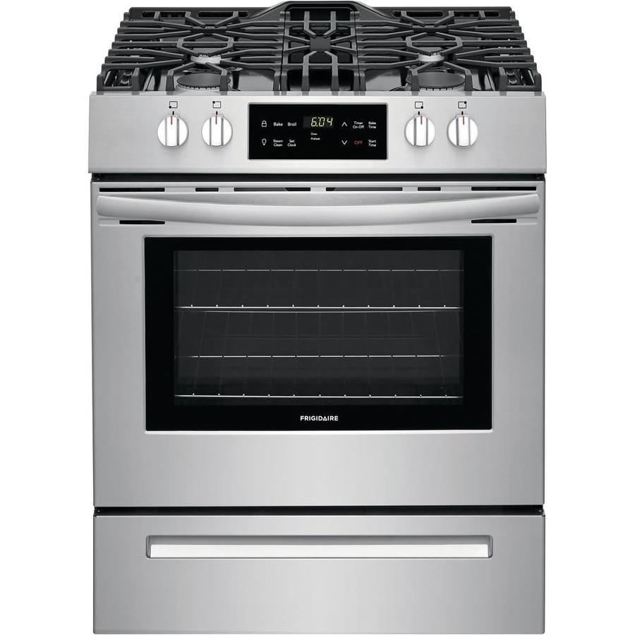 Frigidaire 5-cu ft Freestanding Gas Range (EasyCare Stainless Steel