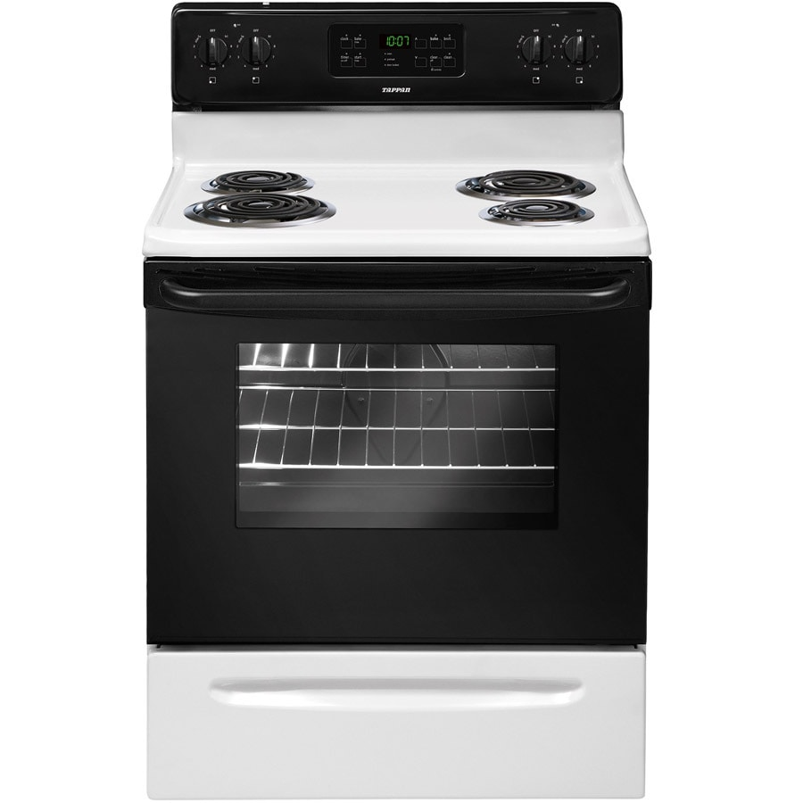 shop tappan freestanding 5 3 cu ft self cleaning electric range rh lowes com tappan self cleaning electric oven manual tappan self cleaning electric oven manual