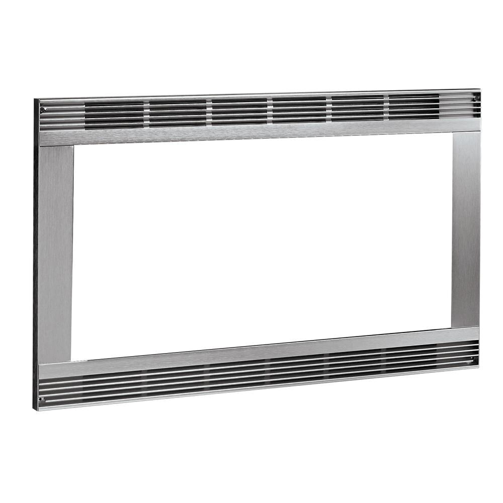 Frigidaire 30 Inch Built In Microwave Trim Kit Color Stainless Steel