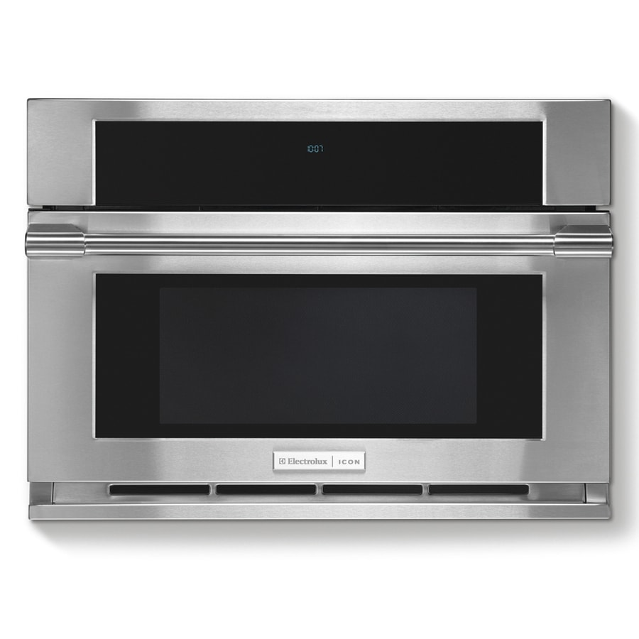 Frigidaire Icon 1 5 Cu Ft Built In Convection Microwave With Sensor Cooking Controls