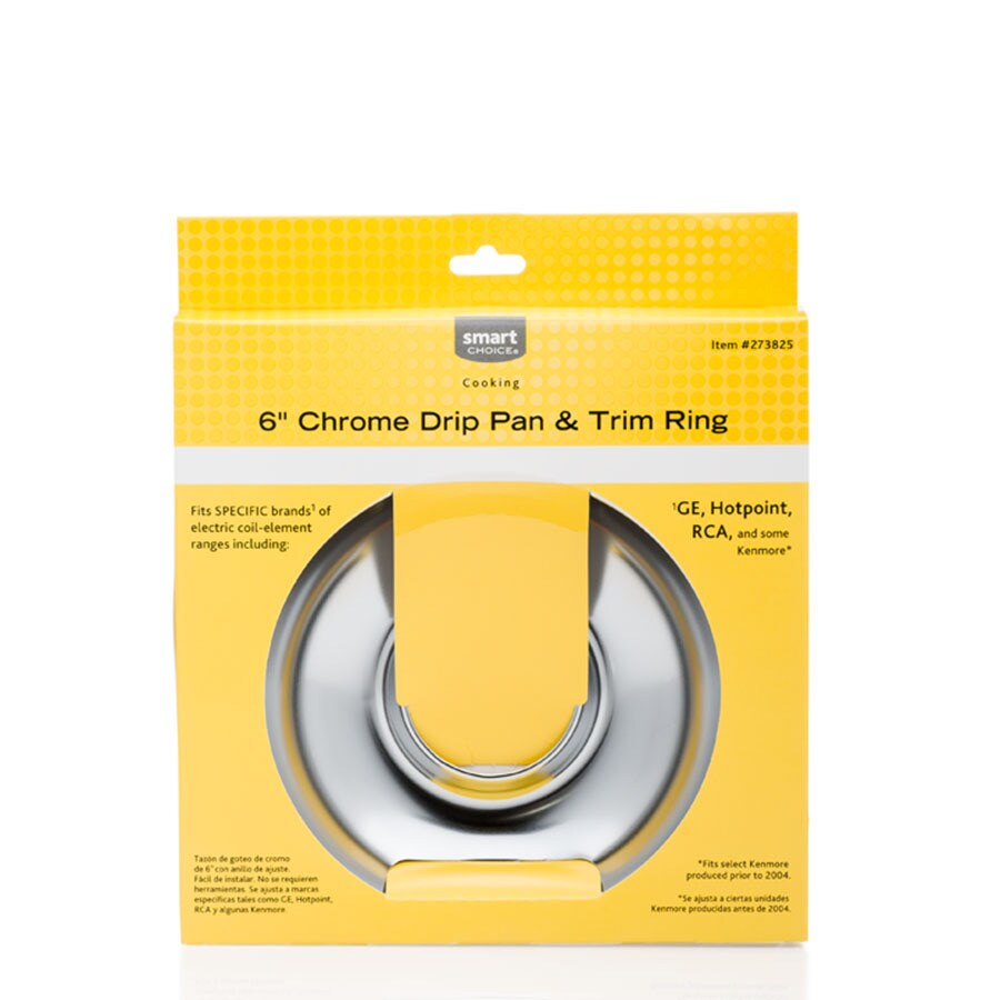 Chrome Pan and Ring Set