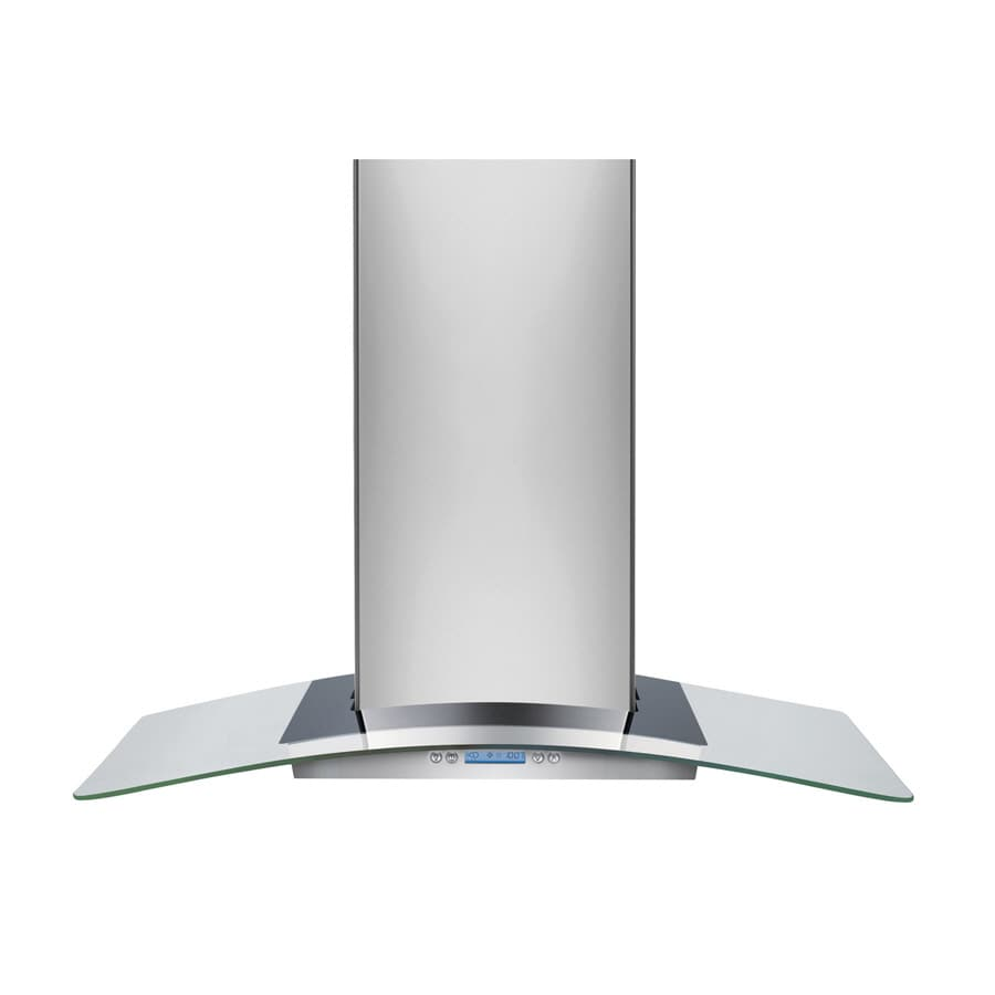 Frigidaire Convertible Wall-Mounted Range Hood (Stainless Steel 36-in; Actual 35.875-in)