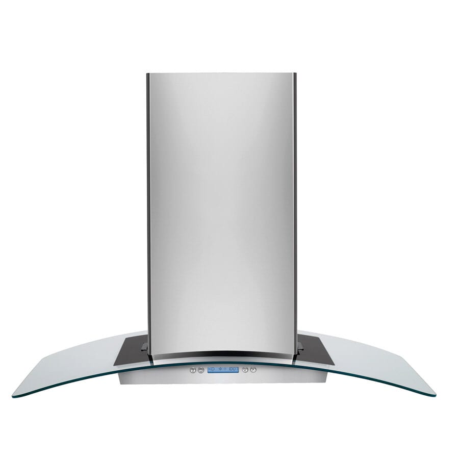 Frigidaire Convertible Island Range Hood (Stainless steel) (Common: 36-in; Actual: 35.875-in)