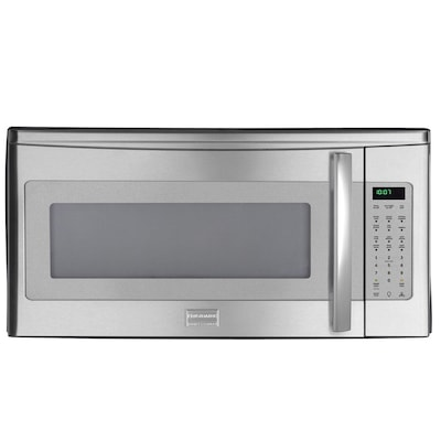 Professional 1 8 Cu Ft Over The Range Microwave Stainless