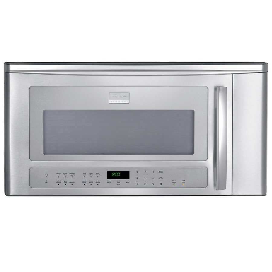 Frigidaire 2-cu ft Over-The-Range Microwave with Sensor Cooking Controls (Stainless) (Common: 30-in; Actual: 29-in)
