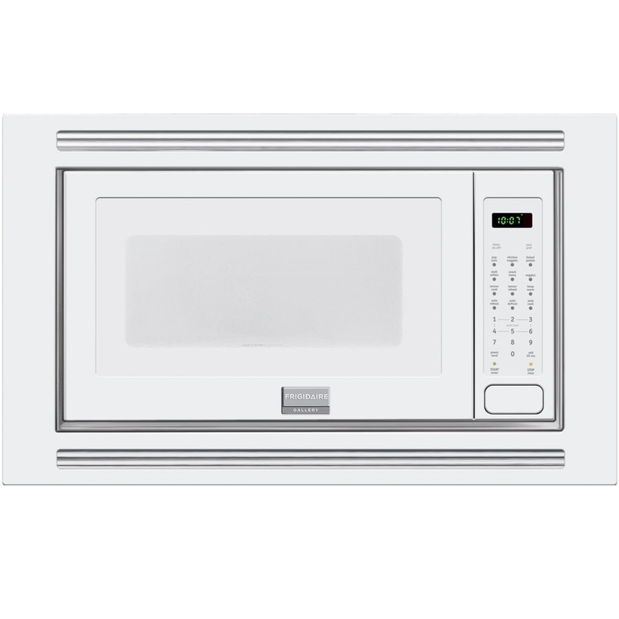 Frigidaire Gallery 2-cu ft Built-In Microwave with Sensor Cooking Controls (White)