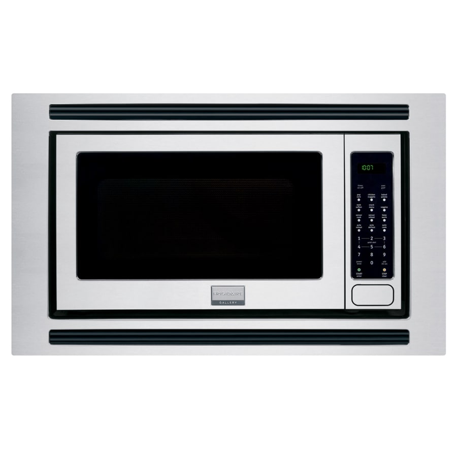 Frigidaire Gallery 2 Cu Ft Built In Microwave With Sensor Cooking Controls Stainless