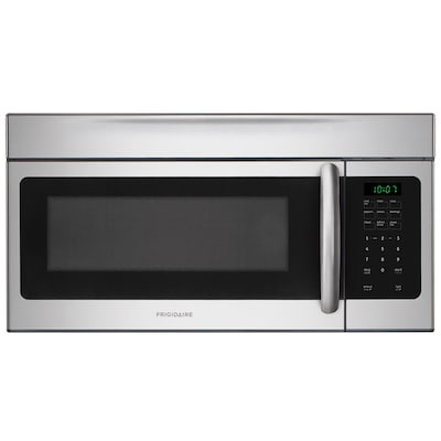1 6 Cu Ft Over The Range Microwave With Sensor Cooking Controls Stainless Common 30 In Actual 29 88