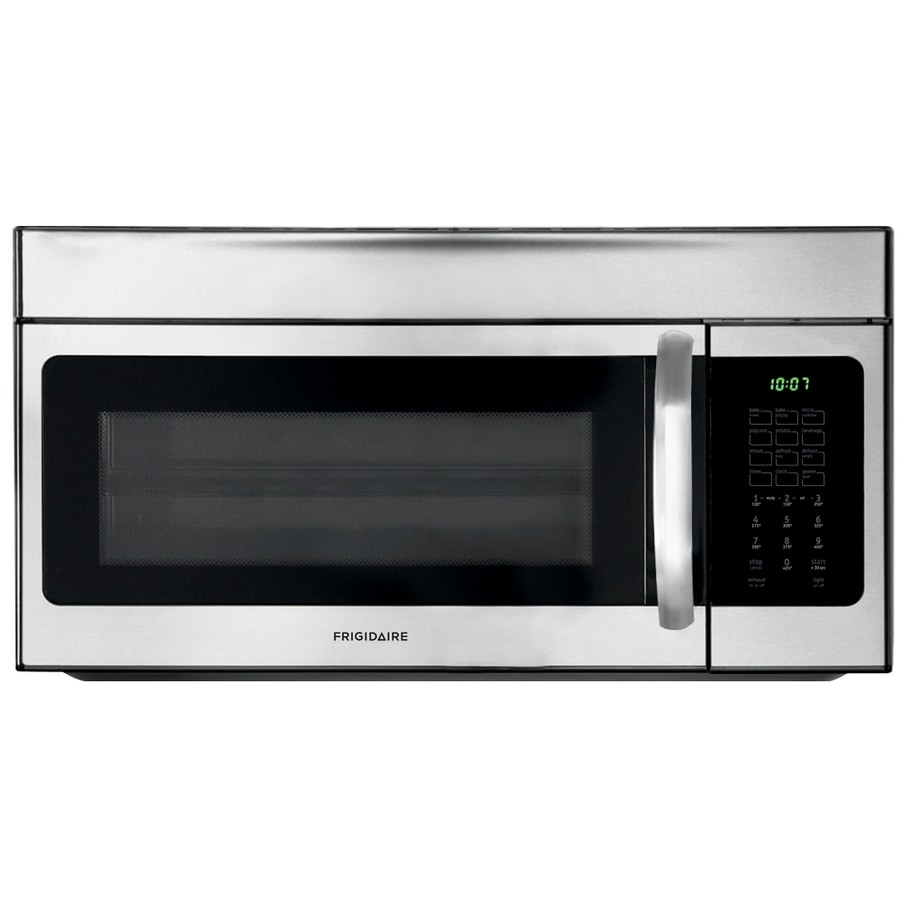 Frigidaire 1.5-cu ft Over-The-Range Convection Oven Microwave (Stainless Steel) (Common: 30-in; Actual: 30-in)