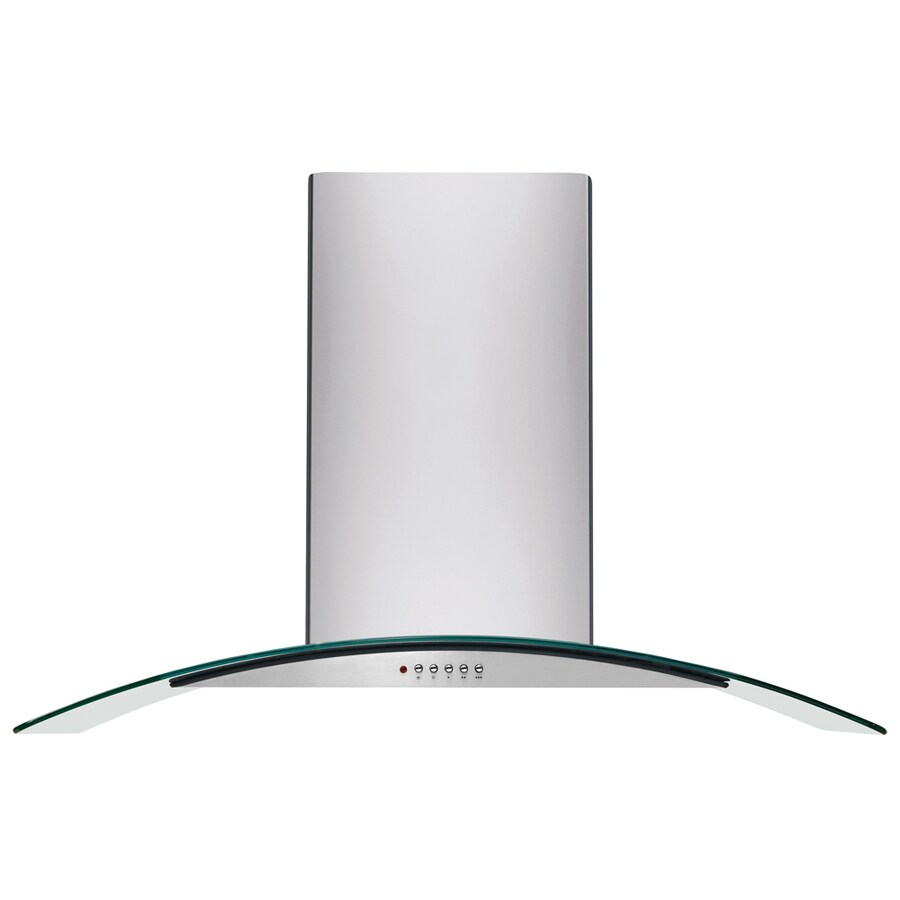 Frigidaire Convertible Wall-Mounted Range Hood (Stainless Steel) (Common: 36-in; Actual: 35.38-in)