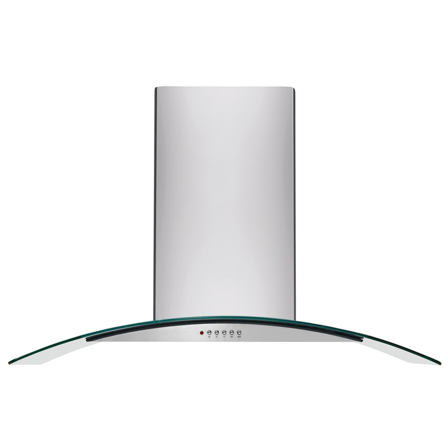 Frigidaire Convertible Island Range Hood (Stainless Steel) (Common: 42-in; Actual: 41.88-in)