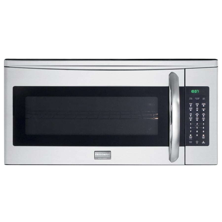 Frigidaire Gallery 2-cu ft Over-The-Range Microwave with Sensor Cooking Controls (Stainless Steel) (Common: 30-in; Actual: 29.93-in)