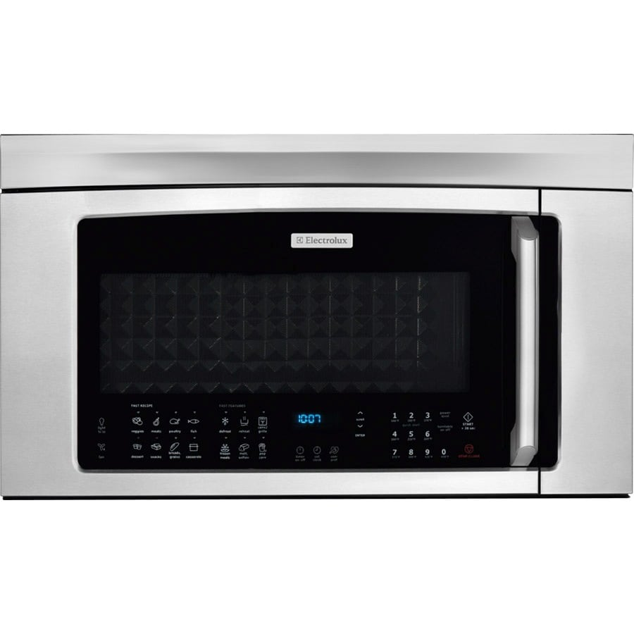Frigidaire 1.8-cu ft Over-The-Range Convection Oven Microwave with Sensor Cooking Controls (Stainless Steel) (Common: 30-in; Actual: 29.86-in)