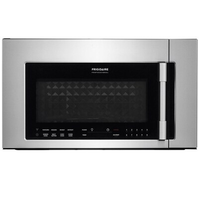Professional 1 8 Cu Ft Over The Range Convection Microwave With Sensor Cooking Fingerprint Resistant Stainless Steel