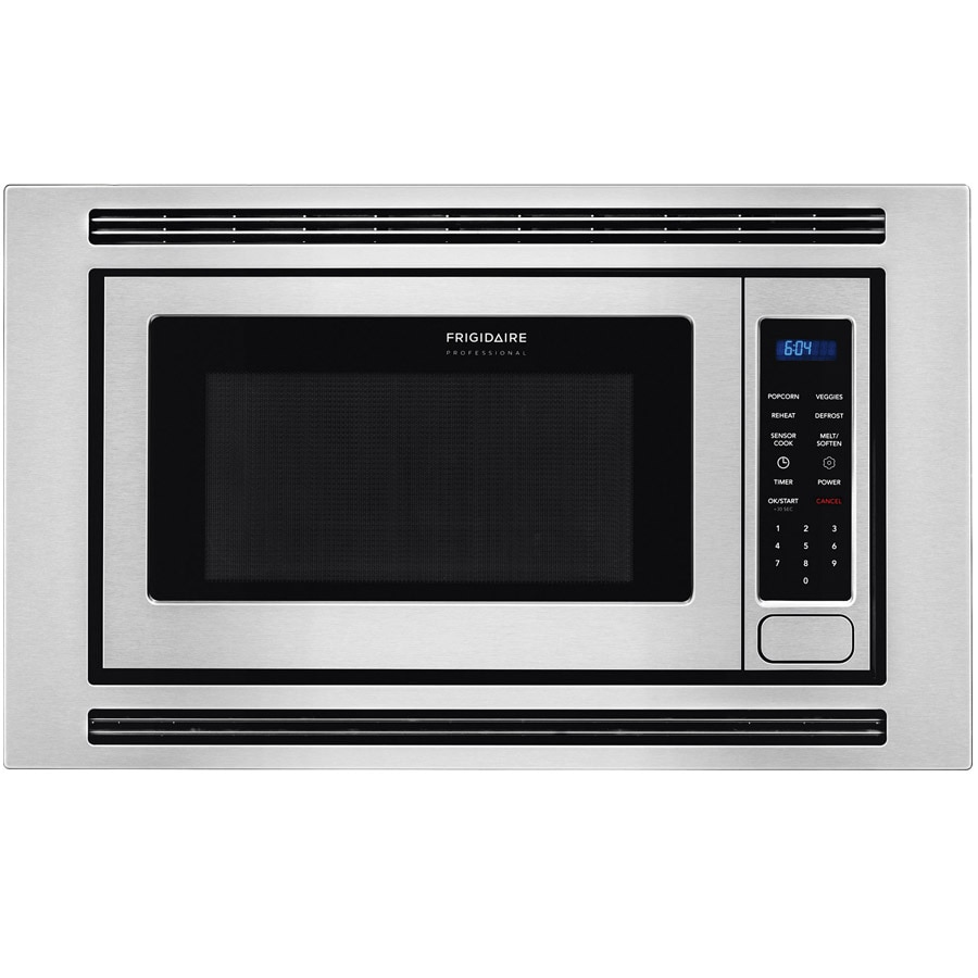 Frigidaire Professional 2-cu ft Built-In Microwave with Sensor Cooking Controls (SmudgeProof Stainless Steel)