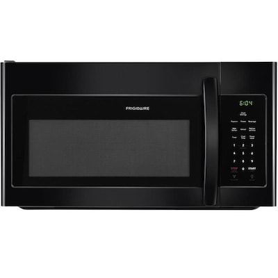 1 6 Cu Ft Over The Range Microwave Black