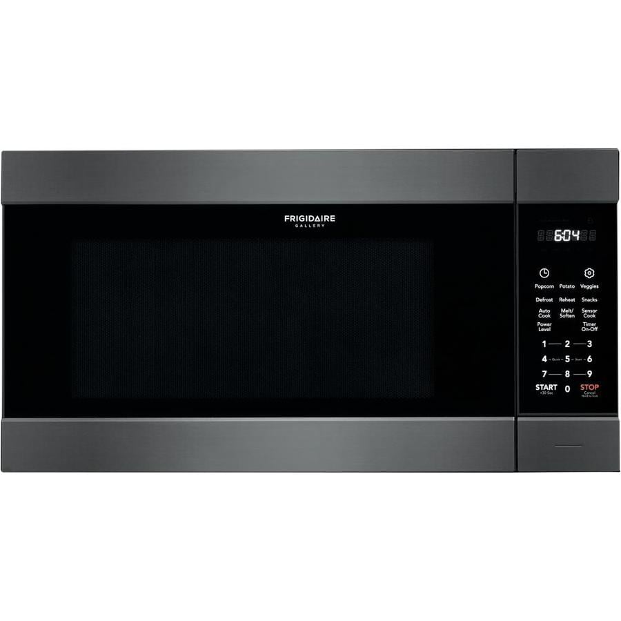 Frigidaire Gallery 2 Cu Ft Microwave With Sensor Cooking Controls Smudge Proof Black Stainless Steel
