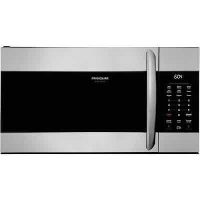 Frigidaire Gallery 1.7-cu ft Over-the-Range Microwave with Sensor Cooking (Smudge-Proof Stainless Steel)