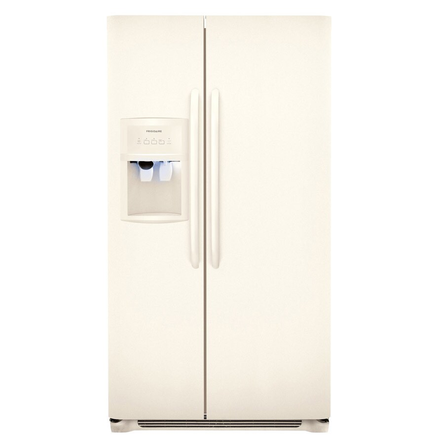 Frigidaire 26-cu ft Side-by-Side Refrigerator (Bisque) ENERGY STAR