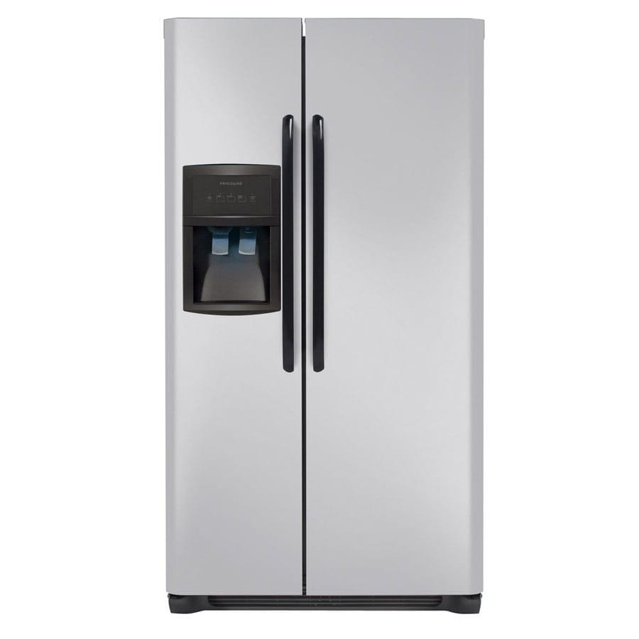 Frigidaire 22.6 cu ft Side-by-Side Refrigerator (Silver Mist) ENERGY STAR
