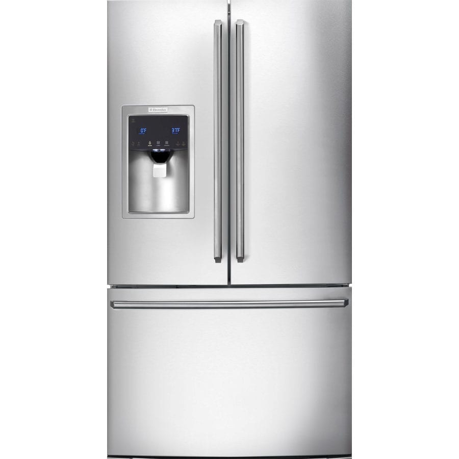 Electrolux 27.8-cu ft French Door Refrigerator with Dual Ice Maker (Stainless Steel) ENERGY STAR