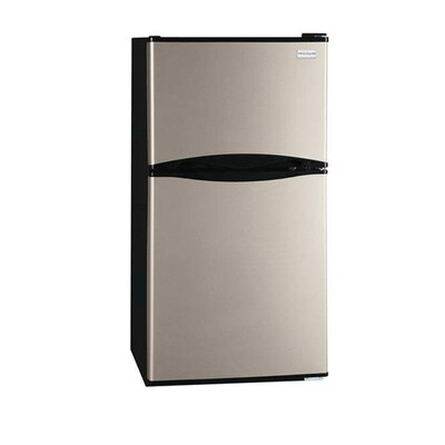 Frigidaire 4 5-cu ft Mini Fridge Freezer Compartment (Silver