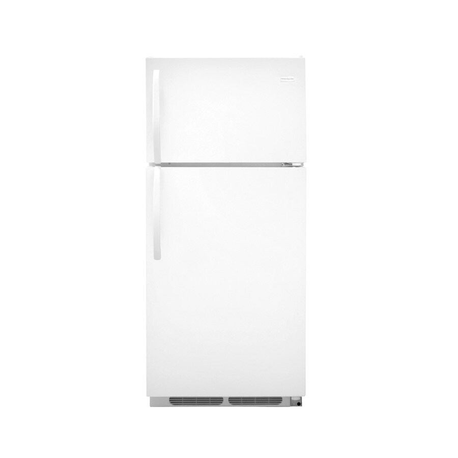 Frigidaire 16.5-cu ft Top-Freezer Refrigerator (White)