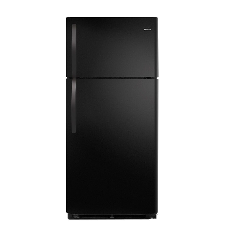 Frigidaire 14.8-cu ft Top-Freezer Refrigerator (Black)