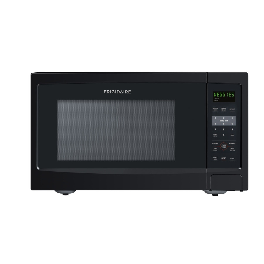 Frigidaire 1.6-cu ft 1,100-Watt Countertop Microwave (Black)