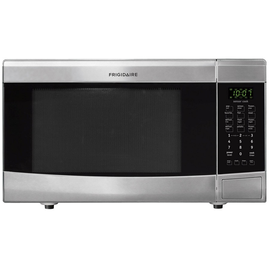 ... cu ft 1,100-Watt Countertop Microwave (Stainless Steel) at Lowes.com