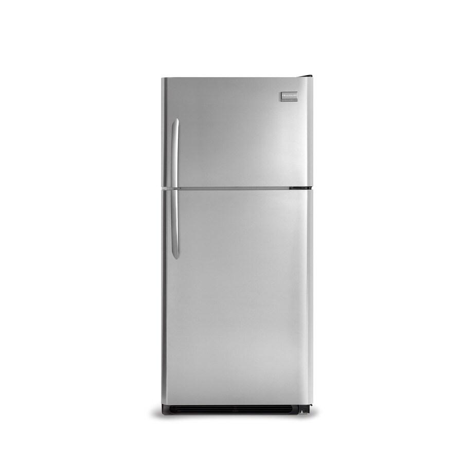 Frigidaire Gallery 20.6-cu ft Top-Freezer Refrigerator (Stainless Steel)