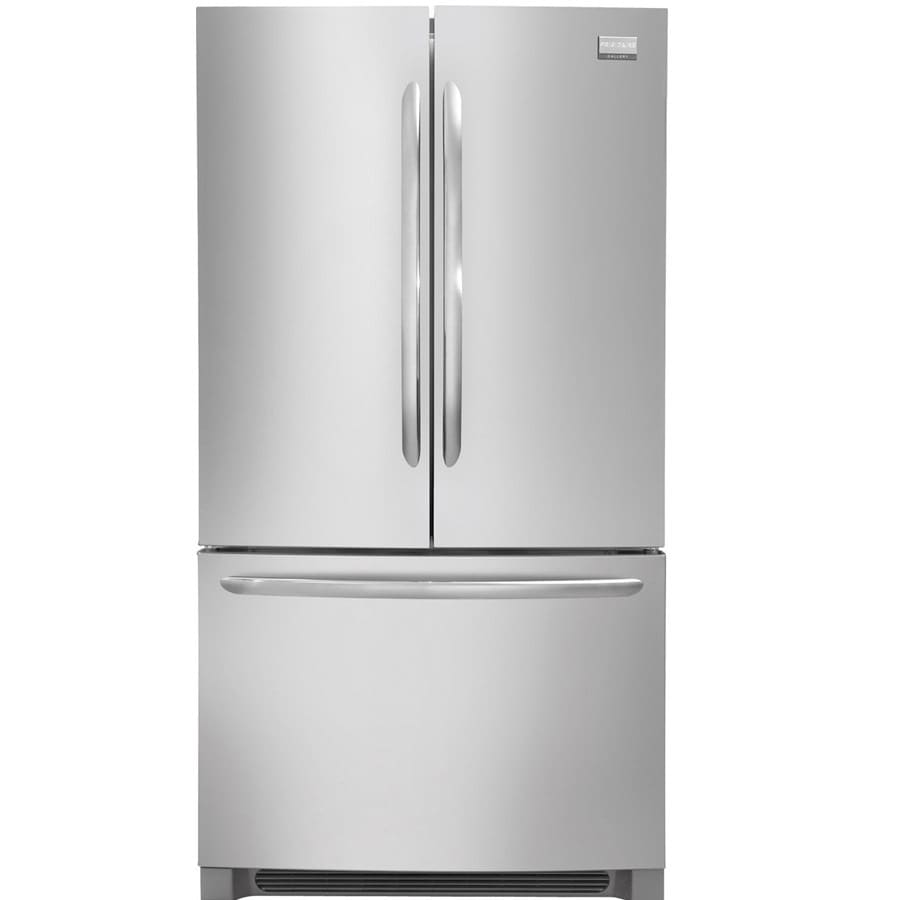 Frigidaire Gallery 27.7-cu ft French Door Refrigerator with Ice Maker (Smudge-Proof Stainless Steel) ENERGY STAR