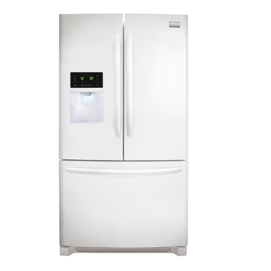 Shop Frigidaire Gallery 277 Cu Ft French Door Refrigerator With Ice