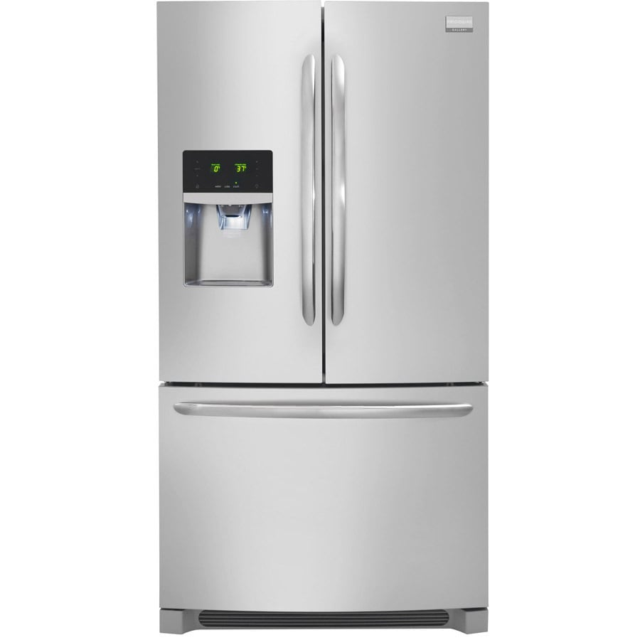 Frigidaire Gallery 27.86-cu ft French Door Refrigerator Dual Ice Maker (Smudge-Proof Stainless Steel) ENERGY STAR
