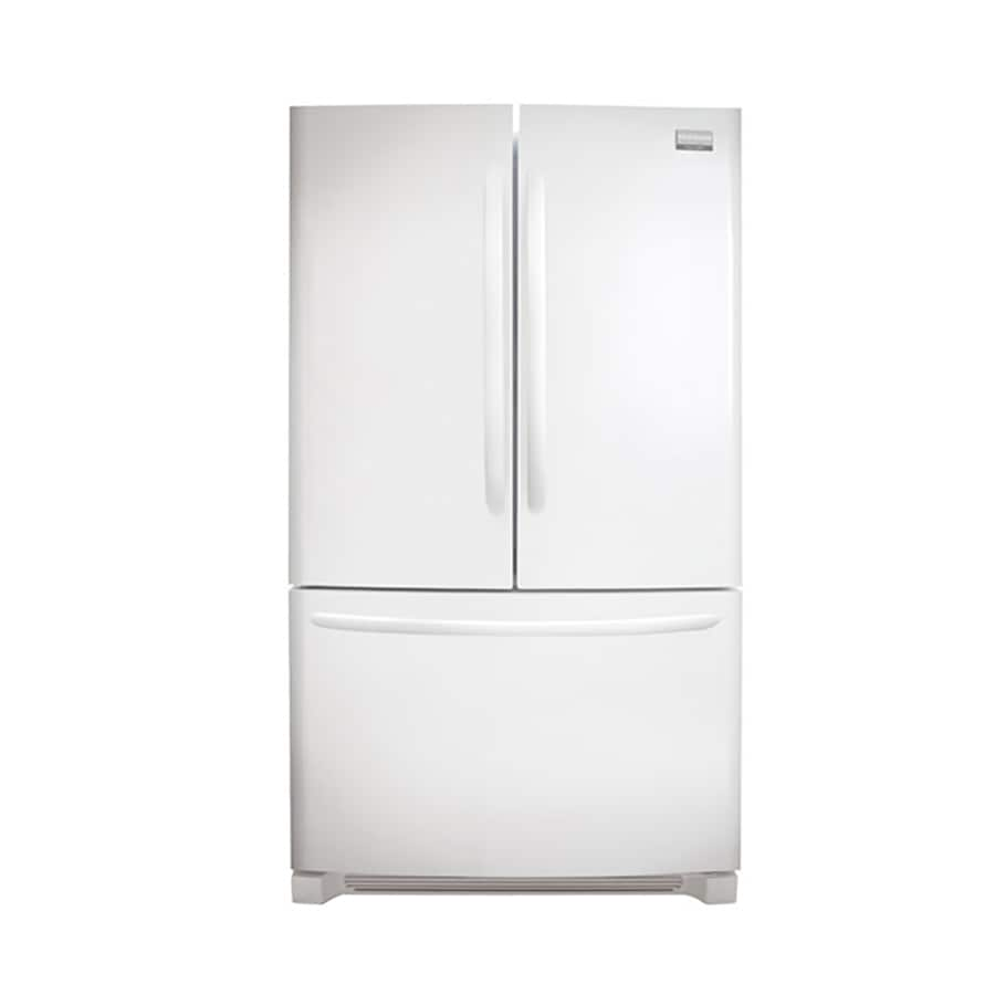 Frigidaire Gallery 27.7-cu ft French Door Refrigerator with Ice Maker (White) ENERGY STAR