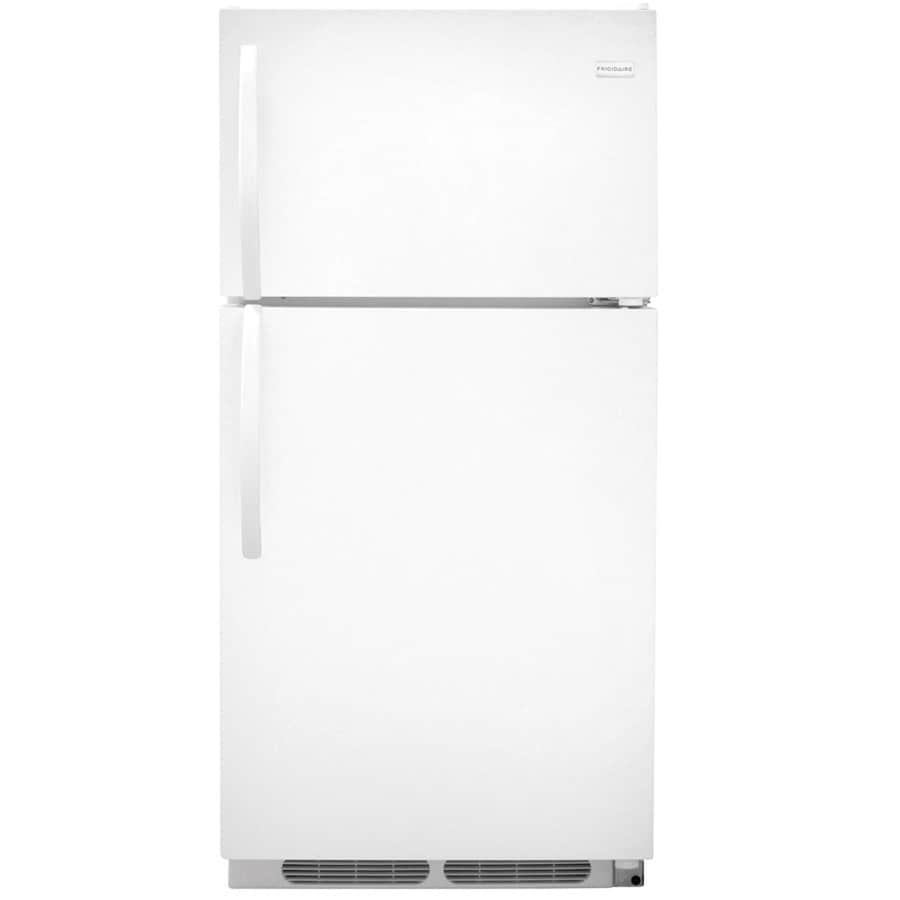 Frigidaire 14.6-cu ft Top-Freezer Refrigerator (White) ENERGY STAR