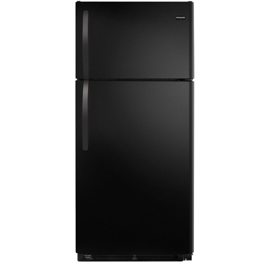 Frigidaire 16.3-cu ft Top-Freezer Refrigerator (Black) ENERGY STAR