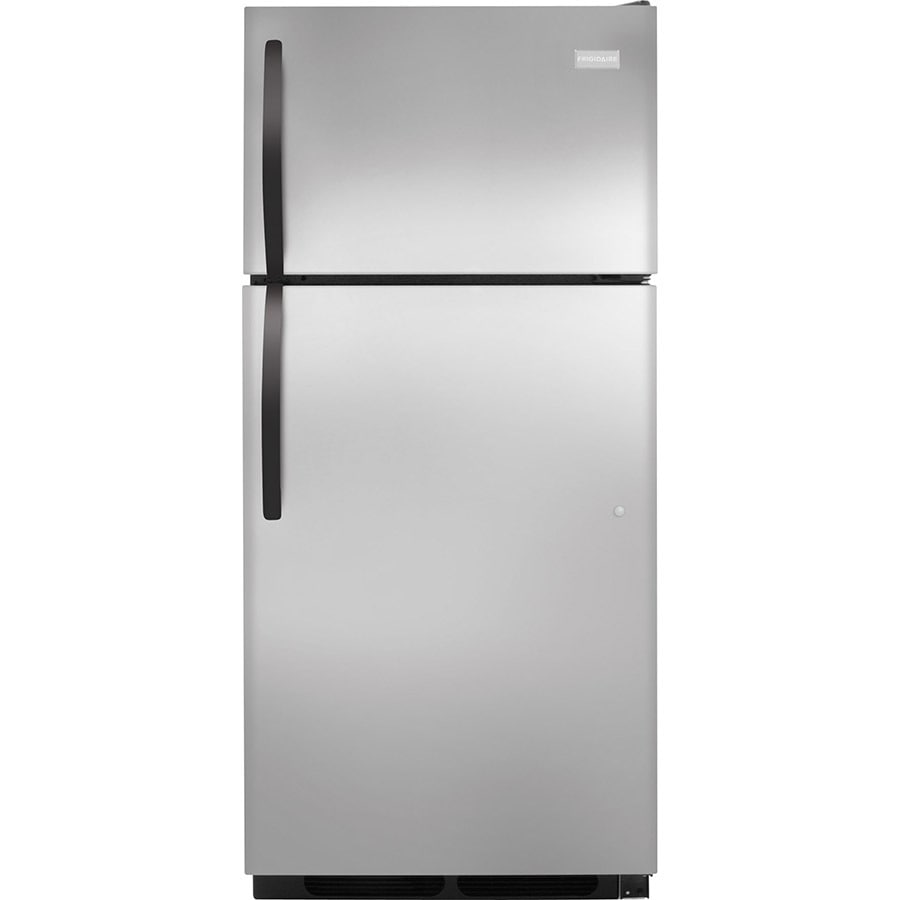 Frigidaire 16.3-cu ft Top-Freezer Refrigerator (Stainless Steel) ENERGY STAR