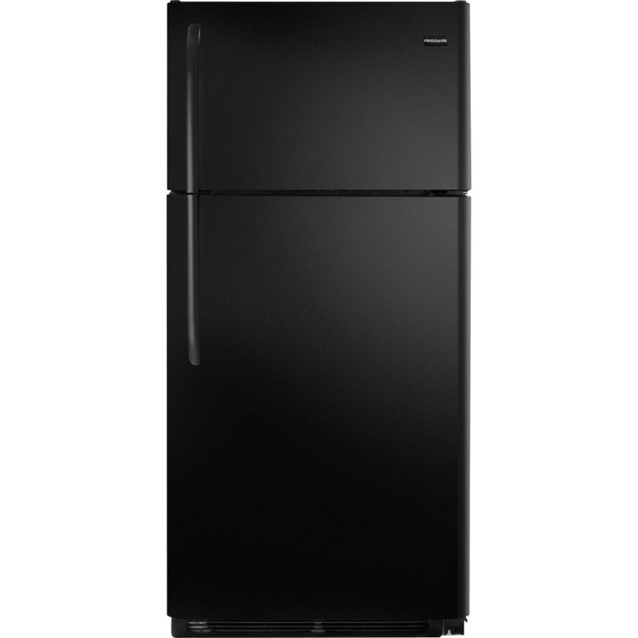 Frigidaire 18-cu ft Top-Freezer Refrigerator (Black) ENERGY STAR