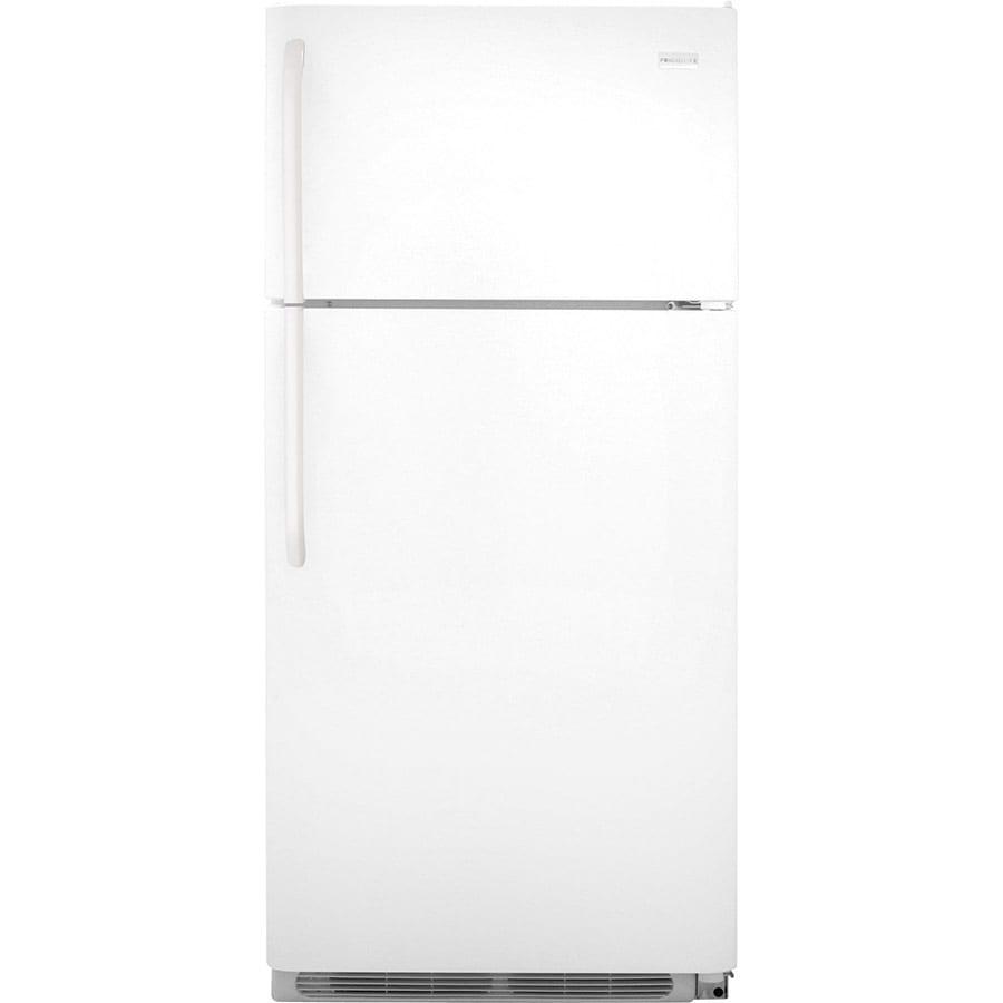 Frigidaire 18-cu ft Top-Freezer Refrigerator (White) ENERGY STAR