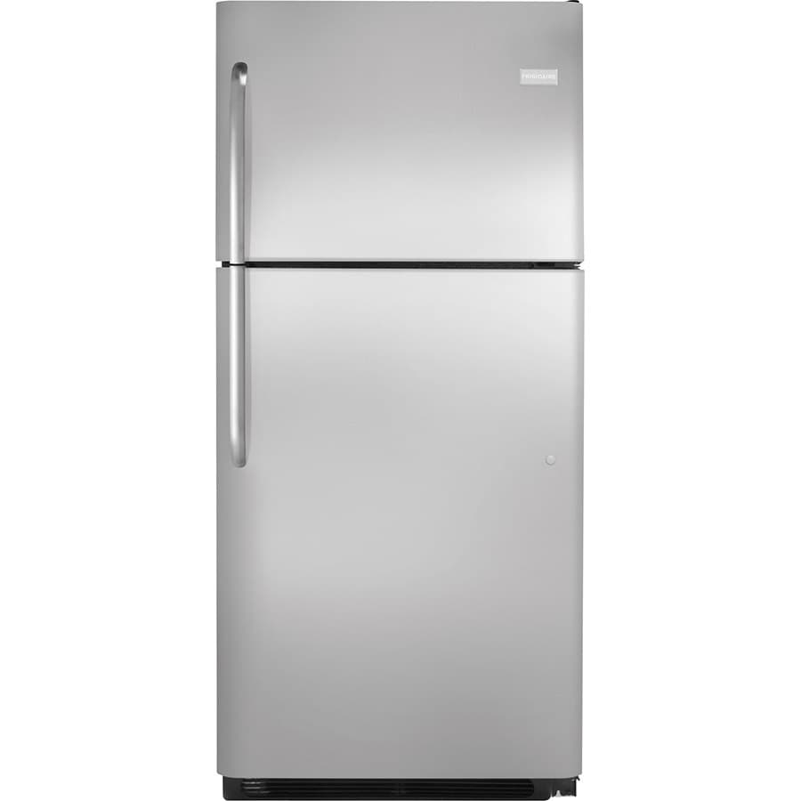 Frigidaire 20.3-cu ft Top-Freezer Refrigerator (Stainless Steel) ENERGY STAR
