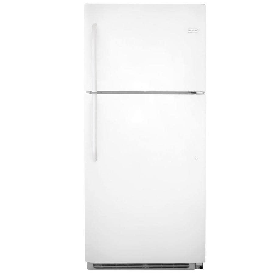 Frigidaire 20.5-cu ft Top-Freezer Refrigerator (White) ENERGY STAR