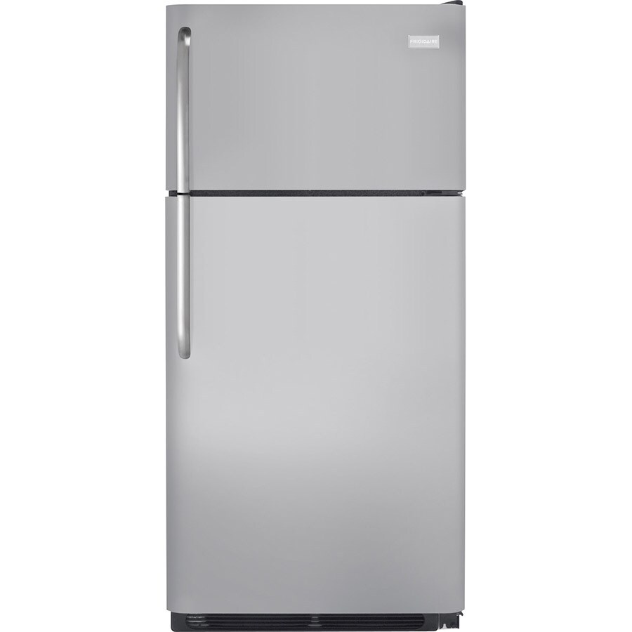 Frigidaire 18-cu ft Top-Freezer Refrigerator (Silver Mist) ENERGY STAR