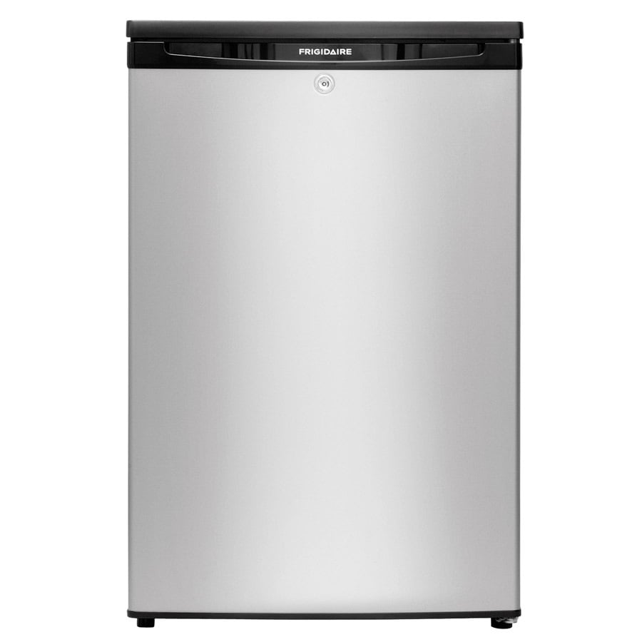 Perfect Frigidaire 4.5 Cu Ft Freestanding Mini Fridge Freezer Compartment (Silver  Mist) ENERGY STAR