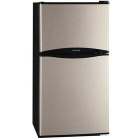 Frigidaire 4.5-cu ft Freestanding Mini Fridge Freezer Compartment (Silver Mist)