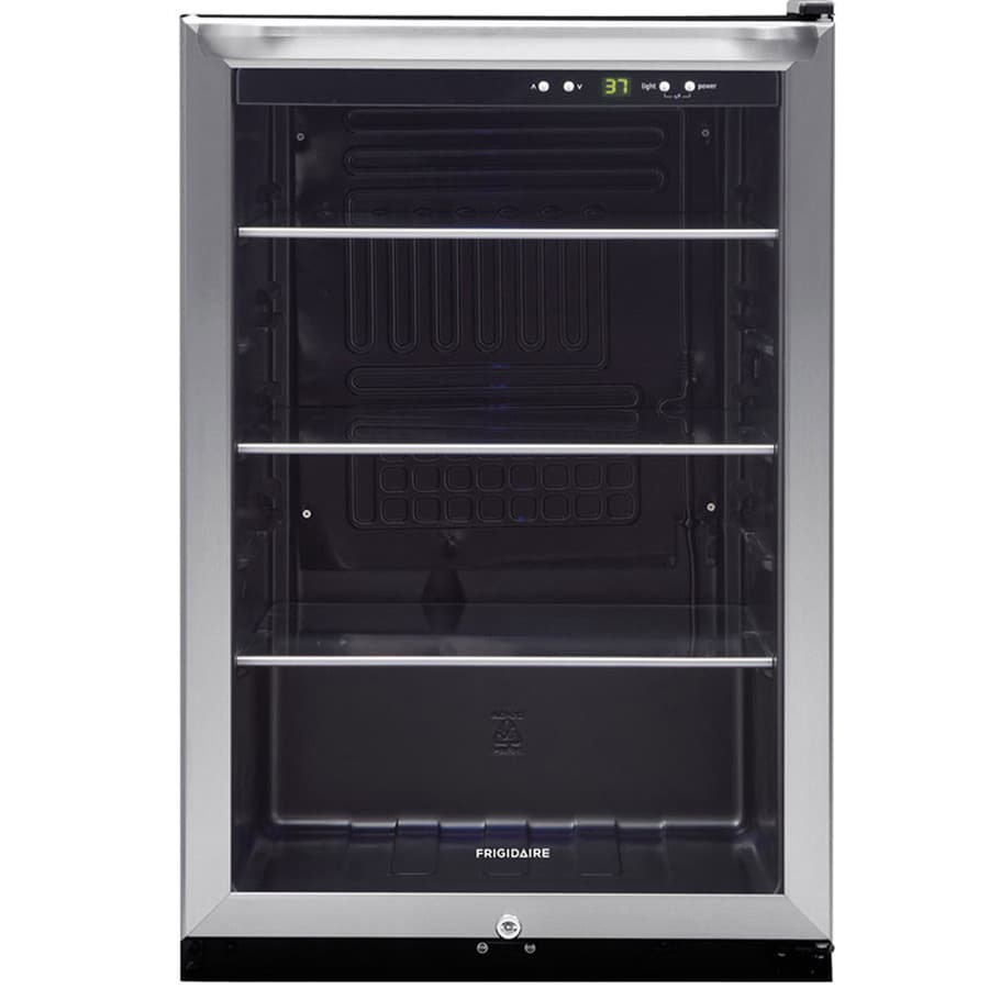 frigidaire 46cu ft stainless steel beverage center
