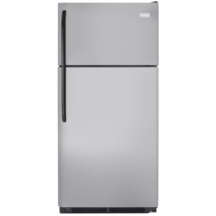 shop frigidaire 20 5 cu ft top freezer refrigerator silver mist energy star at. Black Bedroom Furniture Sets. Home Design Ideas
